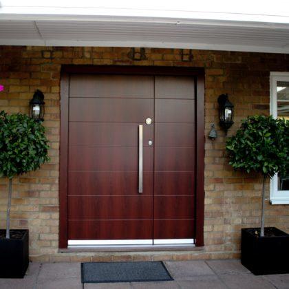 Custom Home Security Doors